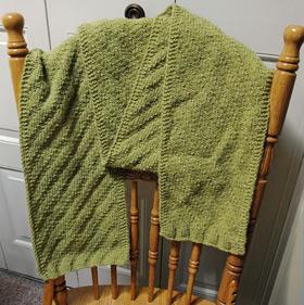 Knitting Pattern Herringbone Scarf : The Reversible Herringbone Scarf   A Small Knitting Dream ...