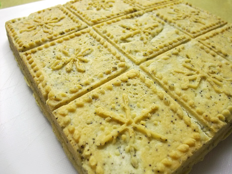 Shortbread from Snowflake Pan