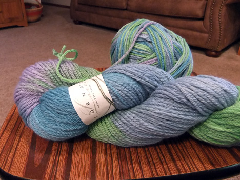 Lorna's Laces Green Line Worsted - Fresh